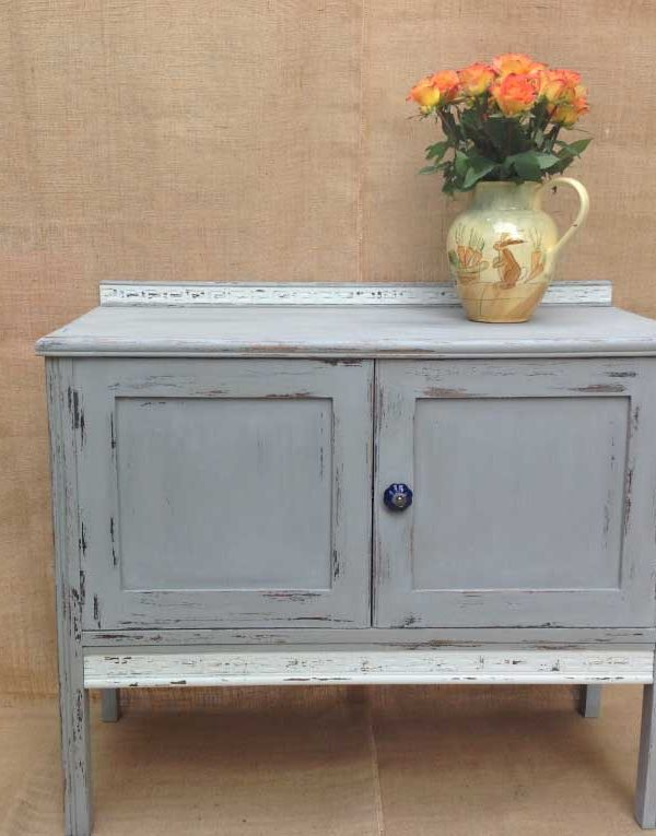 Side Cabinet in colours After Rain & Chalk Grey